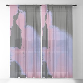 Be your love Sheer Curtain by duckyb