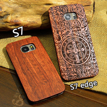 Life Totem // Luxury Wood Samsung Phone Case