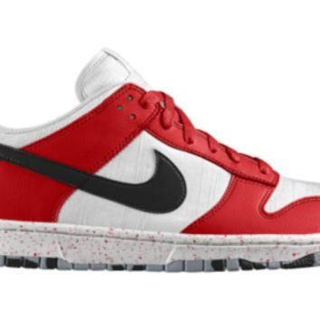 Nike Dunk Low Premium iD Custom Shoes - Red