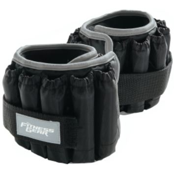 Fitness Gear 5 lb Ankle Weights - Pair | DICK'S Sporting Goods