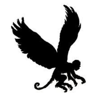 Flying Monkey Phone decal