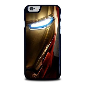 iron man face iphone 6 6s case cover  number 1