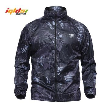 Trendy IGLDSI Men Military Army Skin Jackets Summer Tactical Navy Seal Lightweight Camouflage Jacket Waterproof Thin Raincoat Windbrer AT_94_13