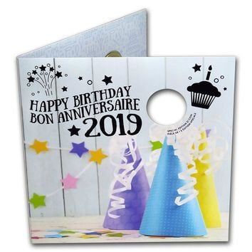 2019 Canada 5-Coin Birthday Gift Set