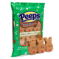 Peeps Chocolate Mousse Marshmallow Reindeer Candy 6-Packs: 24-Piece Ca