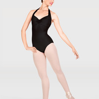 Free Shipping - Adult Pinch Front Halter Dance Leotard by NATALIE