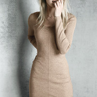 Ribbed Sweaterdress - A Kiss of Cashmere - Victoria's Secret