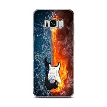 Water and fire guitar- Samsung Galaxy S8 | Galaxy S8 Plus case