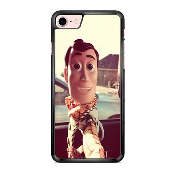 Disneyland Toy Story Woody Selfie 2 1 iPhone 7 Case