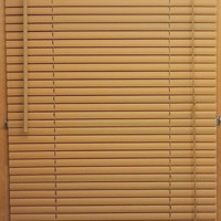 """Woodtone 1"""" Mini Window Blinds in Various Sizes"""