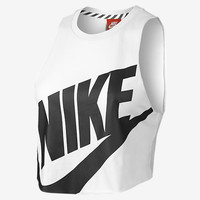 NIKE TRACK AND FIELD CROPPED SLEEVELESS