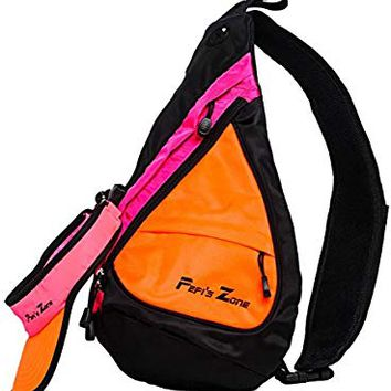 Pepi's Zone Crossbody Backpack with Visor Hat