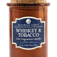 Whiskey and Tobacco Spirit Candle