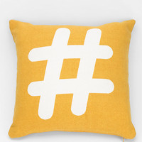 Assembly Home Hashtag Pillow - Urban Outfitters