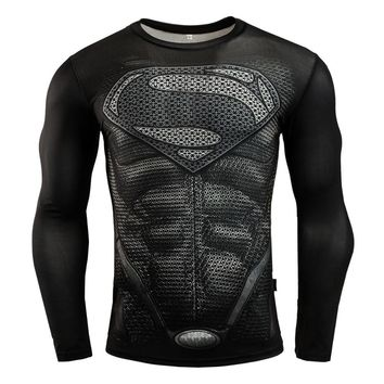New Punisher Gym T Shirt Compression Rashgard For Men Fitness Crossfit Dry Fit Training Shirt Sport Running T-Shirt Tops