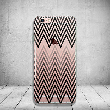 Clear iPhone 6 Case Chevron iPhone 5 Case Clear iPhone 6 Plus Case Transparent iPhone 6s Case iPhone 6 Case Soft Silicone iPhone Case