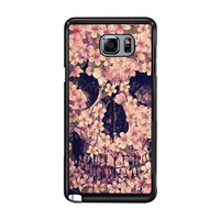 Floral Sugar Skull 2 41423e6a-af6b-4283-8d31-d66edba71479 FOR Samsung Galaxy Note 5 CASE *02*