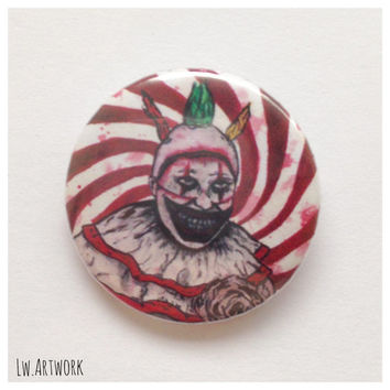 American Horror Story: Freak Show Twisty 25mm Button Badge