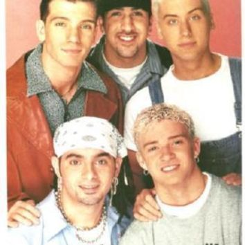 Nsync 90'S Poster Standup 4inx6in
