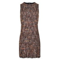 Boucle Tweed Mini Dress