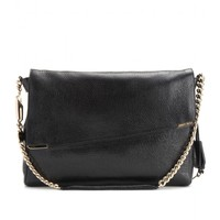 mytheresa.com - Ally leather shoulder bag - Luxury Fashion for Women / Designer clothing, shoes, bags