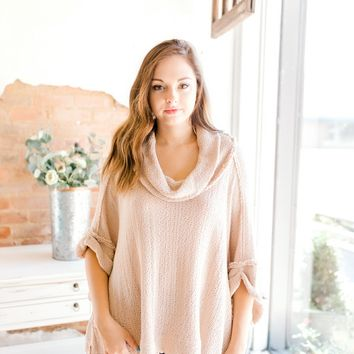 Free People So Comfy Poncho -Rose