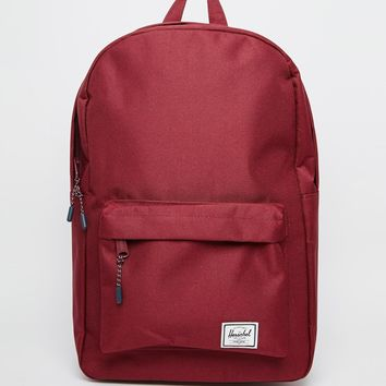 Herschel Supply Co Classic Backpack in Burgundy