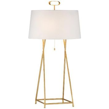 Gold Cross Lamp