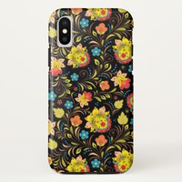 Stunning Floral Abstract iPhone X Case
