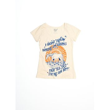 Get There on Time Ballet Tee