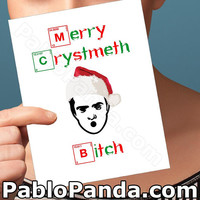 Christmas Cards | Breaking Bad | Best Friend Gift Girlfriend Card Chemistry Boyfriend Gift Funny Christmas Sweater Holiday Cards Boyfriend