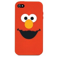 iSound ISOUND-4666 Sesame Street Elmo Silicone Case for iPhone 4/4S - 1 Pack - Retail Packaging - Red