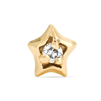 Maria Tash - 14-karat gold diamond earring