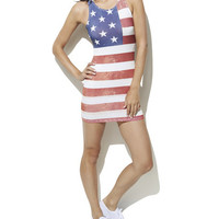 Stars and Stripes Bodycon | Shop Dresses at Wet Seal
