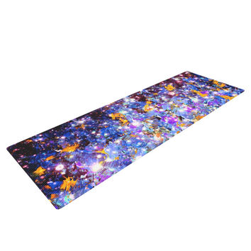 "Ebi Emporium ""Midnight Serenade"" Blue Purple Yoga Mat"