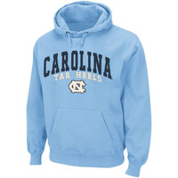 North Carolina Tar Heels :UNC: Basic Pullover Hoodie Sweatshirt - Carolina Blue