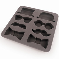 Ice Tray Gentleman | Silicone Ice Cube Tray
