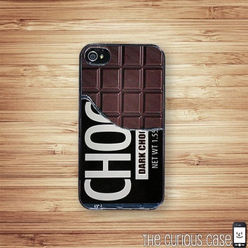 iPhone 4 Case Chocolate Bar Candy iPhone Hard Case / Fits Iphone 4, 4S