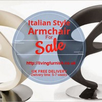 Modern Italian Furniture UK & Online Furnishing Store UK: Buy Italian Style Armchair from Living Furnish at Best Price