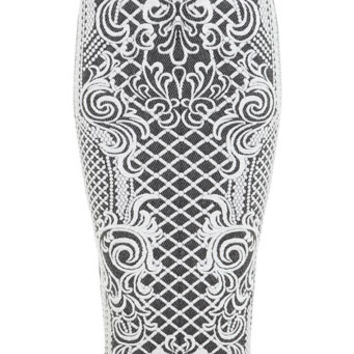 Cable Jacquard Pencil - New In