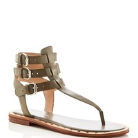 FRENCH CONNECTIONImanna Triple Buckle T-Strap Sandals