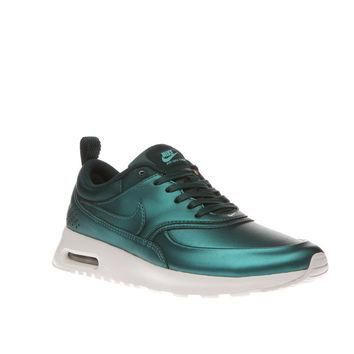 womens nike blue air max thea se trainers