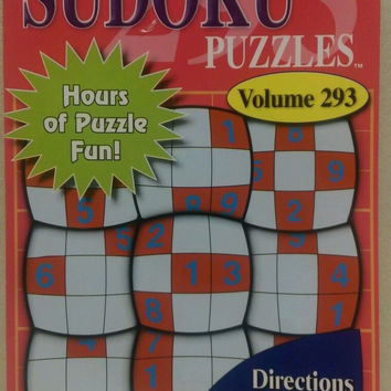 Sudoku Puzzles Vol 293 English Spanish French New