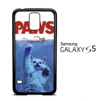 PAWS OVIE PARODY FUNNY CAT ATTACK F0586 Samsung Galaxy S5 Case