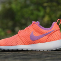 NIKE Women Men Running Sport Casual Shoes Sneakers Orange