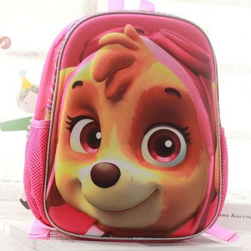 School Backpack Kids Cartoon School bags For Boys/girls Waterproof 3D dog Backpack Children Primary School bags Puppy Mochilas rucksacks AT_48_3
