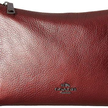 COACH Womens Leather Carrie Crossbody