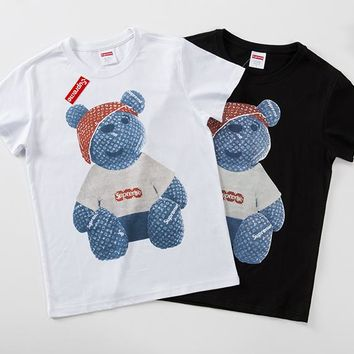 Cheap Women's and men's supreme t shirt for sale 85902898_0093