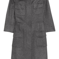 Giambattista Valli Wool-blend coat – 65% at THE OUTNET.COM