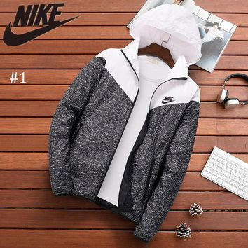NIKE 2018 autumn and winter new sports trend casual sun protection jacket #1